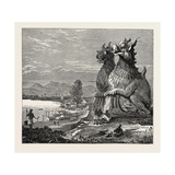 Idols on the Banks of the River Irrawaddy, Burmah Giclee Print
