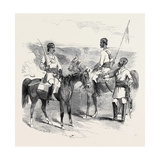 The Mutiny in India: Irregular Cavalry of the Bengal Army Giclee Print
