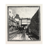 Quebec, Prescott Gate, Canada, Nineteenth Century Giclee Print