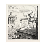 Jacques D'Artevelde and the Populace of Ghent Giclee Print