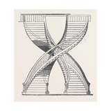 Banks' Twin Staircase Giclee Print
