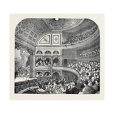 The New Vaudeville Theatre, 1870 Giclee Print