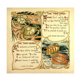 The Two Jars the Two Crabs Giclee Print