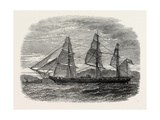 The Hartford (Admiral Farragut's Flag-Ship), USA, 1870s Giclee Print