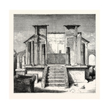 The Temple of Isis Pompeii Giclee Print