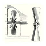 Types of Propeller Giclee Print