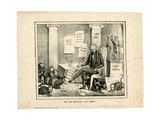 The Rats Entering a New House, 1830 Giclee Print