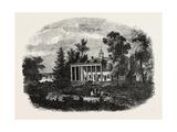 Washington's Residence, Mount Vernon, USA, 1870s Giclee Print