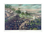Battle of Resaca, Pub. Kurz and Allison, 1889 Giclee Print