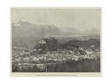 Salzburg (Austria), the City in Which Mozart Was Born, 27 January 1756 Giclee Print