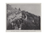 The Mystery Procession at Roquebrune, the Herod and Pilate Groups Giclee Print
