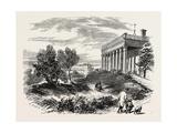 View of Washington's House, Mount Vernon, USA, 1870s Giclee Print