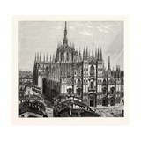 Milan Cathedral Giclee Print