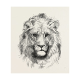 A Modern Lion Giclee Print