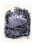 Whiteface Seen from Lake Placid United States of America Giclee Print