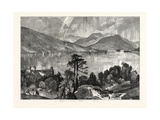 View of Lake George, New York State, United States of America Giclee Print