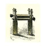 Sugar Cane Mill Peru 1869 Giclee Print
