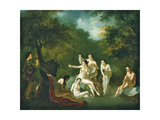 Diana and Actaeon Wydruk giclee