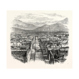 General View of Pompeii Giclee Print