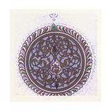 Arabian Ornament Giclee Print