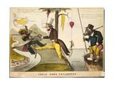 Uncle Sam's Taylorifics, 1846 Giclee Print