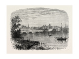 Hartford, Connecticut, USA, 1870S Giclee Print