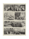 The Royal Masonic Institution for Girls at Battersea Giclee Print