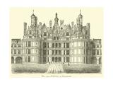 Chateau of Chambord Giclee Print