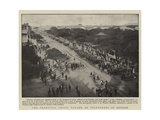 The Transvaal Crisis, Parade of Volunteers at Durban Giclee Print