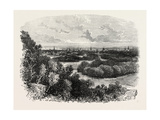 New Haven, USA, 1870s Giclee Print