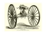 Gatling Gun Giclee Print