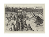 South of England Lawn Tennis Tournament at Devonshire Park, Eastbourne Giclee Print