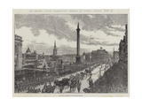 The Queen's Jubilee Thanksgiving Festival in London, Tuesday, 21 June Giclee Print