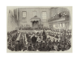 Trial of the Bradford Election Petition at the Borough Courthouse Giclee Print