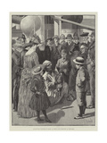 An Egyptian Conjuror on Board an Orient Line Steam-Ship at Port Said Giclee Print