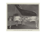 A Piano (Style Louis XV) Giclee Print