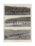 The German Army Manoeuvres in Westphalia Giclee Print