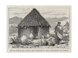 Hut in Which Mr Portal Was Confined by the Abyssinians at Asmara Giclee Print