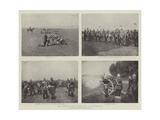 The German Army Manoeuvres in Westphalia Giclee Print