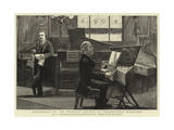 Conference of the National Society of Professional Musicians Giclee Print