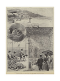 Pigeon Shooting at Monte Carlo, in the Grounds of the Gun Club Giclee Print