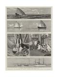 Cruising in Search of Slave Dhows Off the East Coast of Africa Giclee Print