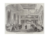 Grand Banquet to the Knights of St Patrick, in Dublin Castle Giclee Print