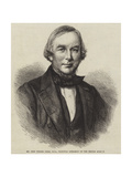 Mr John Winter Jones, Fsa, Principal Librarian of the British Museum Giclee Print