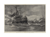 Departure of the Italian Naval Squadron from Portsmouth Giclee Print