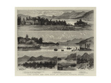 Lake George, New York State, an American Pleasure Resort Giclee Print