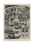 Venice at Olympia, Scenes on the Stage and on the Water Giclee Print