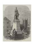 The Monument to George Stephenson at Newcastle-On-Tyne Giclee Print