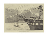 The Ashantee War, on the Road Out, the Island of St Vincent Giclée-tryk