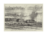 Wreck of the Mail Train on the Chemin De Fer Du Nord, France Giclee Print